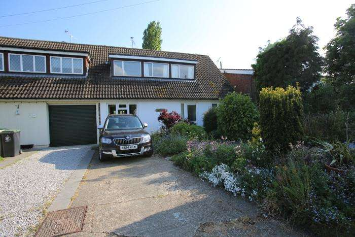 4 Bedrooms Semi Detached House for sale in CHURCH ROAD, MORETON CM5