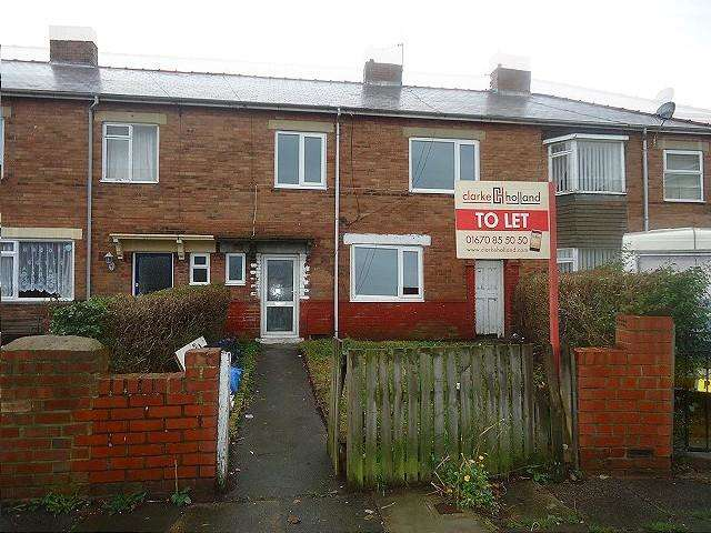 4 Bedrooms Terraced House for rent in Woodhorn Villas, Ashington, Northumberland, NE63 9JF