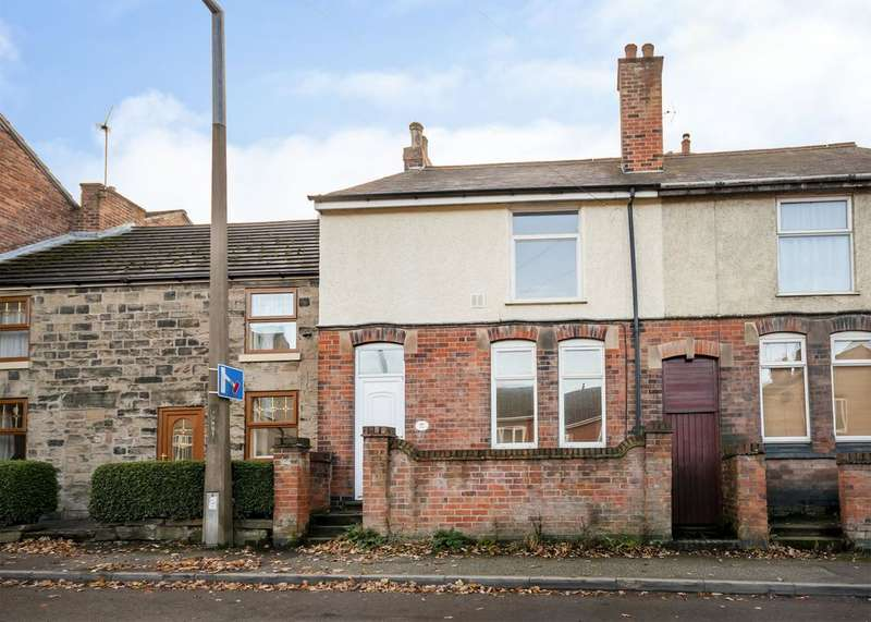 3 Bedrooms Semi Detached House for sale in Lower Somercotes, Somercotes, Alfreton, Derbyshire DE55