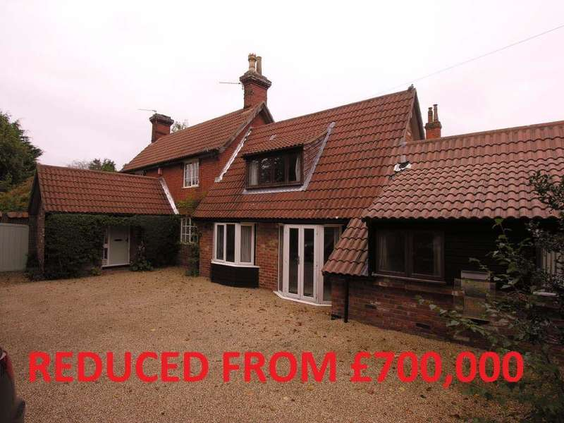 5 Bedrooms Detached House for sale in Church Lane, Wroxham