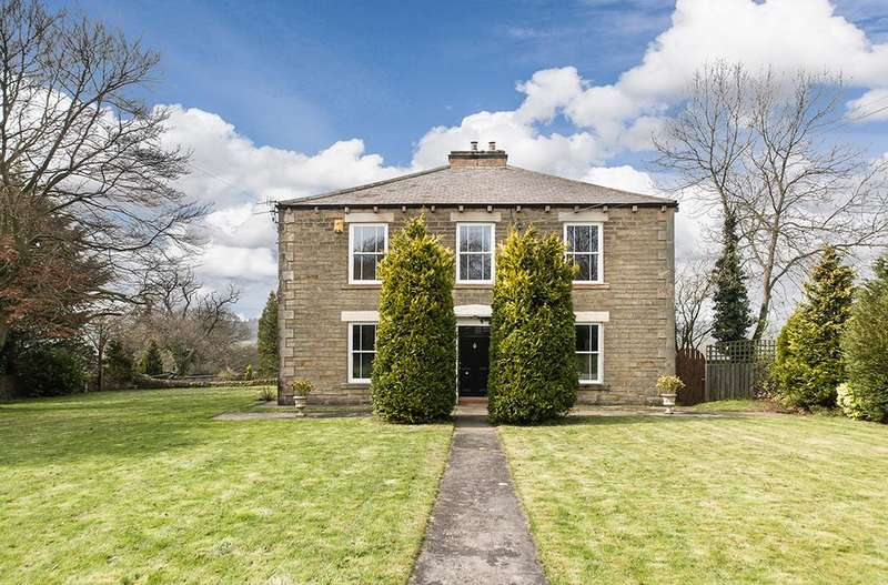 4 Bedrooms Detached House for sale in Derwent Dene House, East Law, Ebchester, Consett, Durham DH8