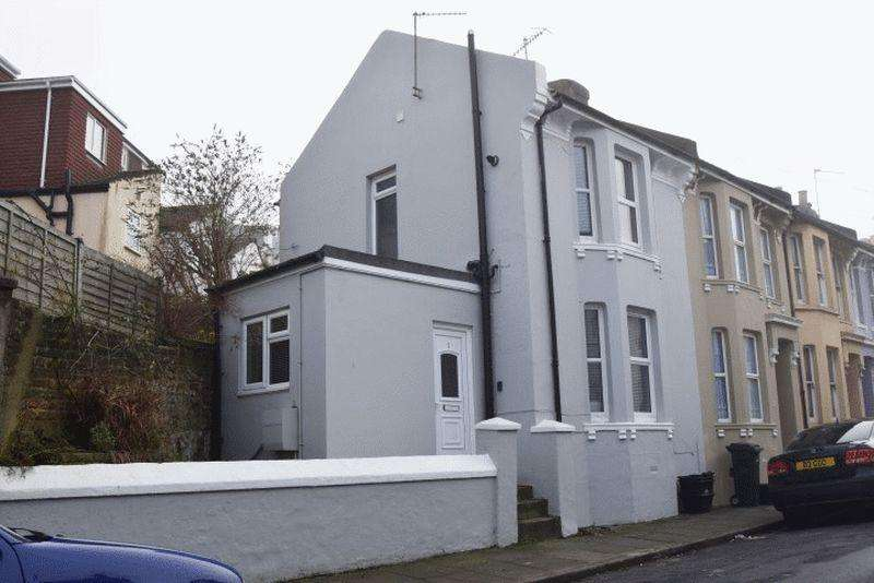 2 Bedrooms End Of Terrace House for sale in Luther Street, Hanover, Brighton BN2 9XA