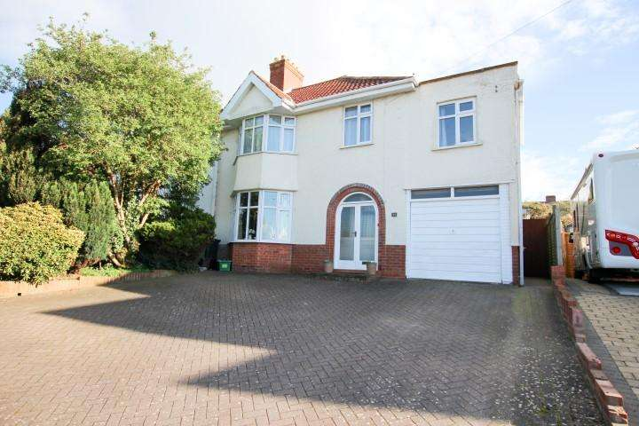4 Bedrooms Semi Detached House for sale in Quantock Road, Bridgwater TA6