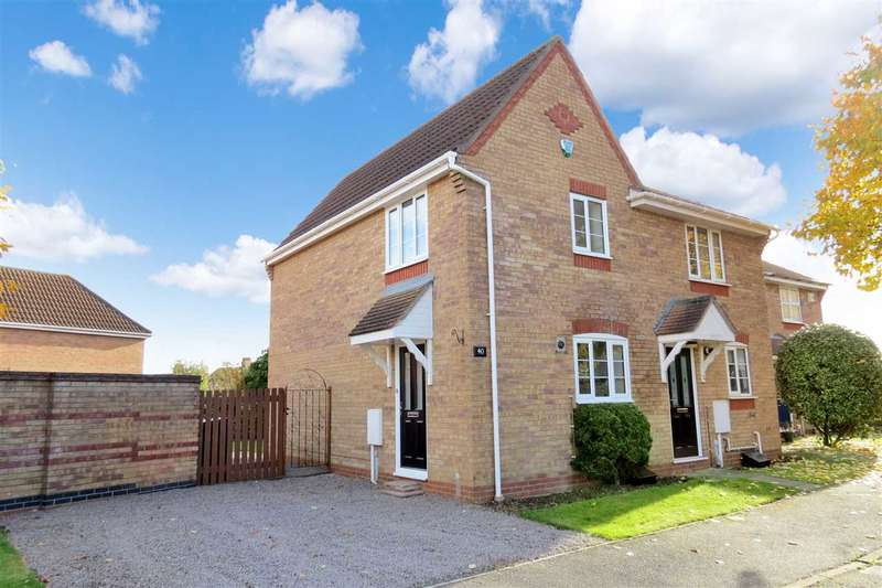 2 Bedrooms Semi Detached House for sale in Linnet Way, Sleaford