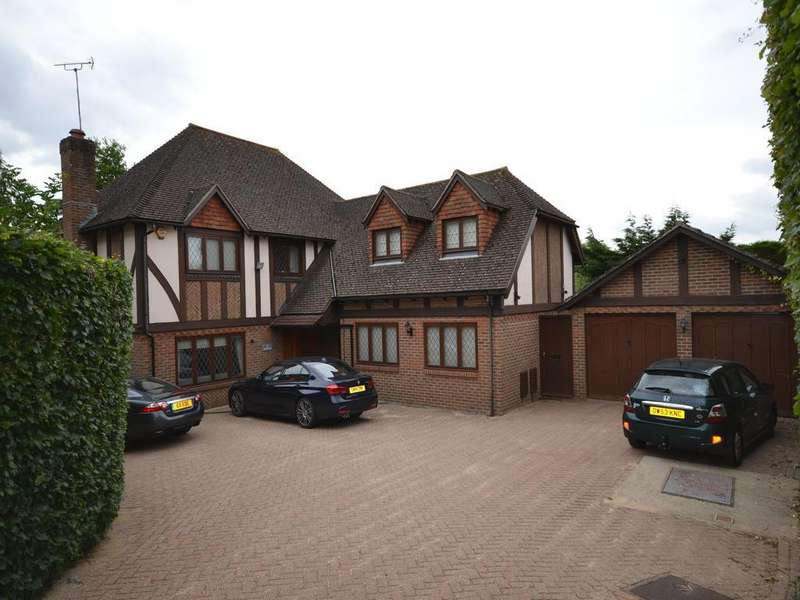 5 Bedrooms Detached House for sale in Watsons Close, Sandyhurst Lane, Ashford TN25