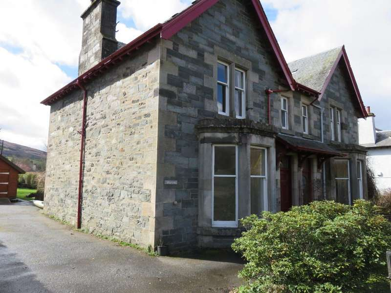 4 Bedrooms Semi Detached House for sale in Taybridge Road, Aberfeldy PH15