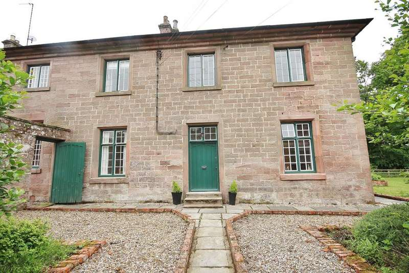 3 Bedrooms Semi Detached House for sale in West House, Chillingham, Alnwick, Northumberland NE66