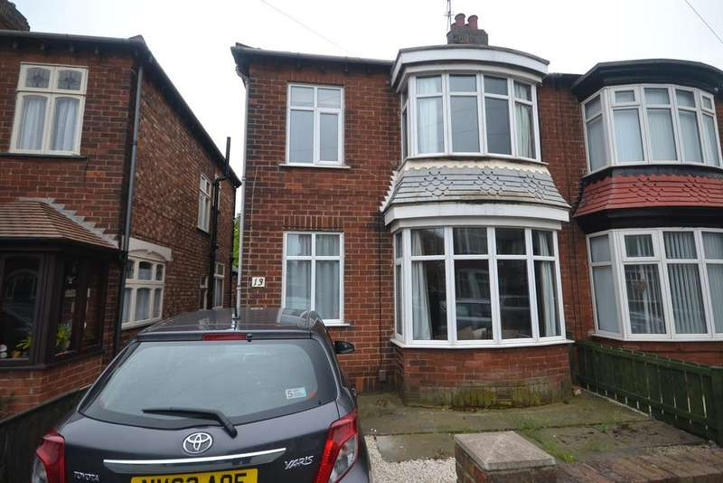 3 Bedrooms Semi Detached House for sale in sandringham Road, Redcar TS10