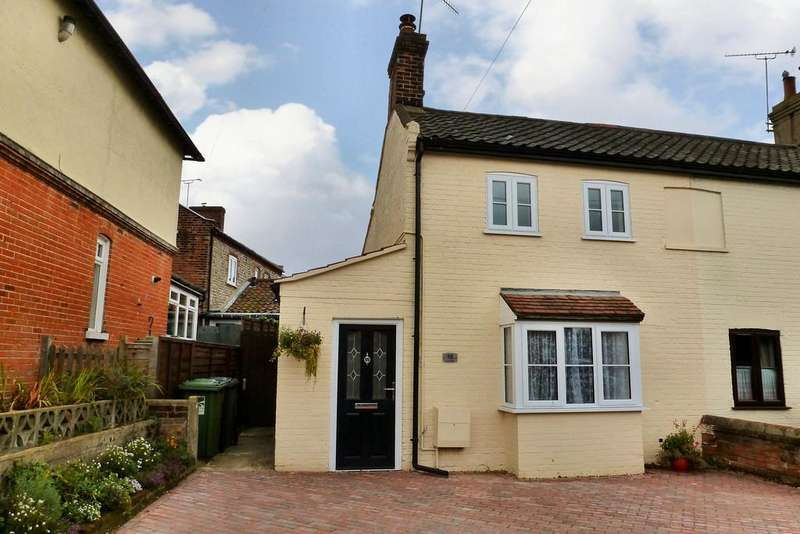 2 Bedrooms Semi Detached House for sale in North Walsham, Norfolk