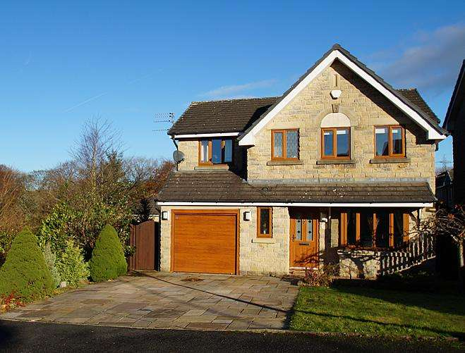 4 Bedrooms Detached House for sale in Old Kiln Lane, Grotton, Oldham OL4