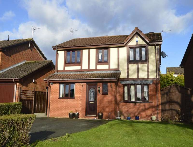 4 Bedrooms Detached House for sale in Smale Rise, Oswestry, SY11