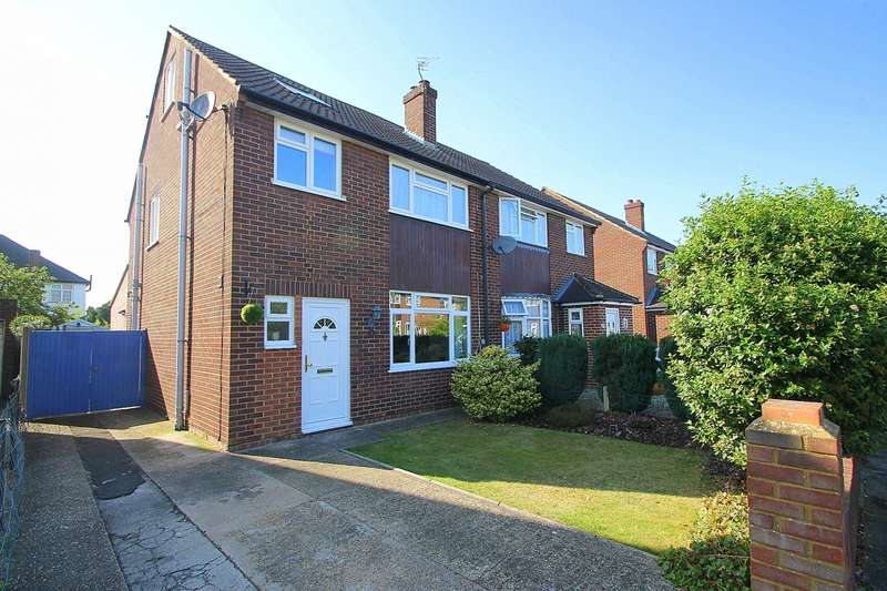 4 Bedrooms Semi Detached House for sale in Chessholme Road, Ashford, TW15