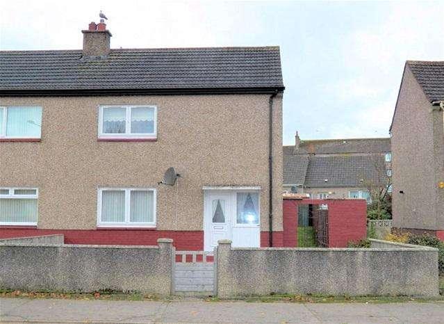 2 Bedrooms Semi Detached House for sale in 71 Millknowe, Campbeltown, PA28 6NJ