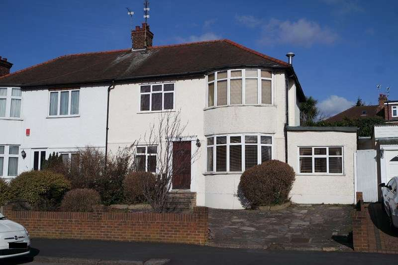 3 Bedrooms Semi Detached House for sale in Longmore Avenue, Barnet