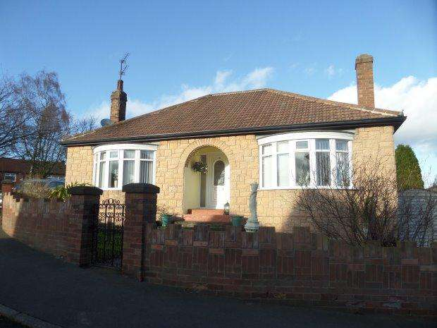 2 Bedrooms Detached Bungalow for sale in DRYBOURNE PARK, SHILDON, BISHOP AUCKLAND