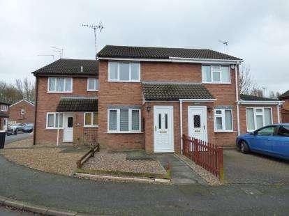 2 Bedrooms Terraced House for sale in Warren Drive, Leicester