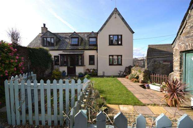 2 Bedrooms Link Detached House for sale in Pelynt, Looe, Cornwall