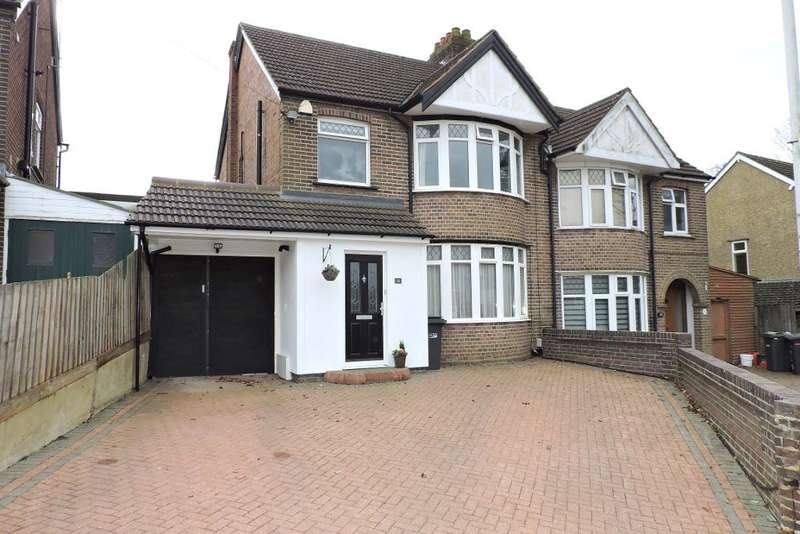 3 Bedrooms Semi Detached House for sale in Woodbury Hill, Luton, Bedfordshire, LU2 7JP