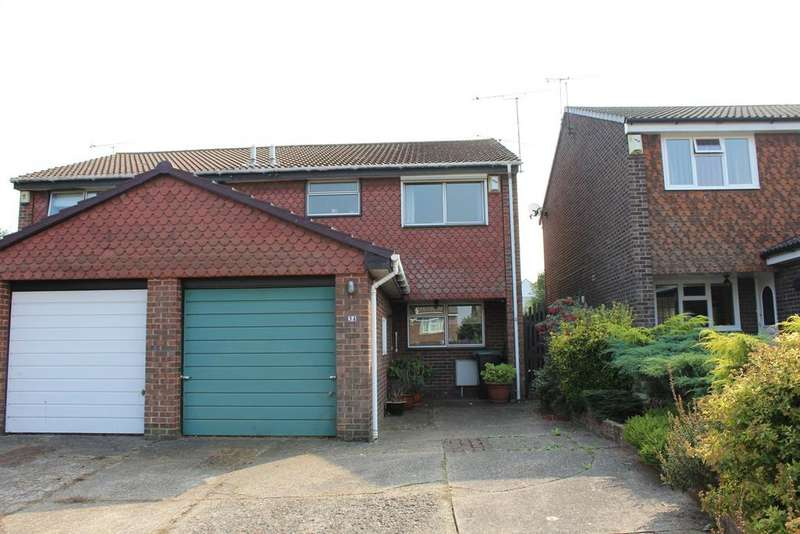 3 Bedrooms Semi Detached House for sale in Aintree Close, Gravesend, Kent DA12