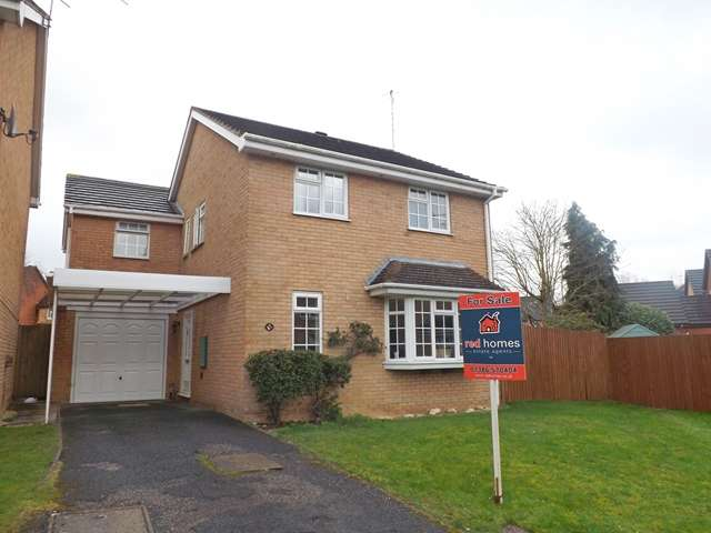 4 Bedrooms Detached House for sale in Willow Road, Evesham