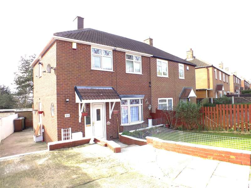 2 Bedrooms Semi Detached House for sale in Ramshead Gardens, Leeds, West Yorkshire, LS14 1BY
