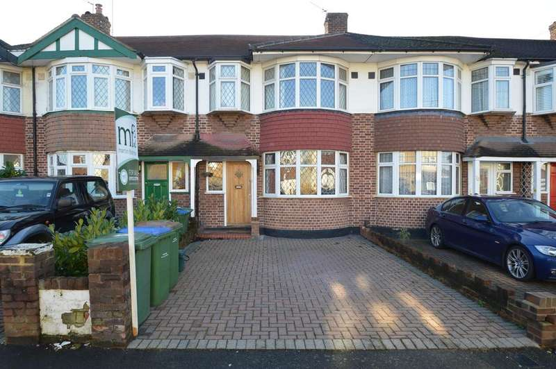 3 Bedrooms Terraced House for sale in Rydens Grove, HERSHAM KT12
