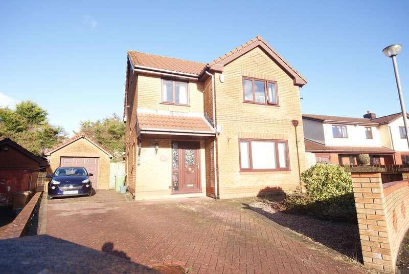 5 Bedrooms Detached House for sale in Glendale Gardens, Fleur de Lys, Blackwood NP12