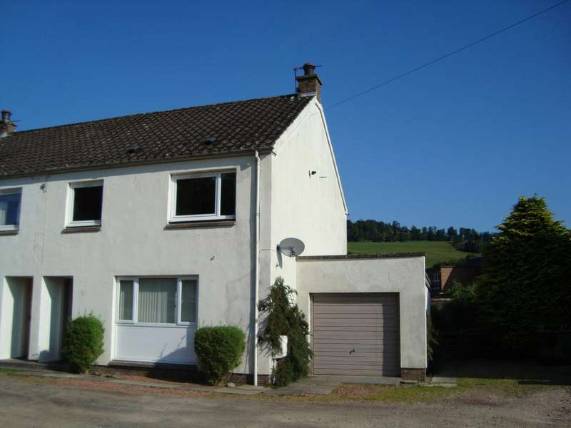 3 Bedrooms Semi Detached House for sale in No. 2 Philiphaugh Cottages, Philiphaugh, Selkirk TD7