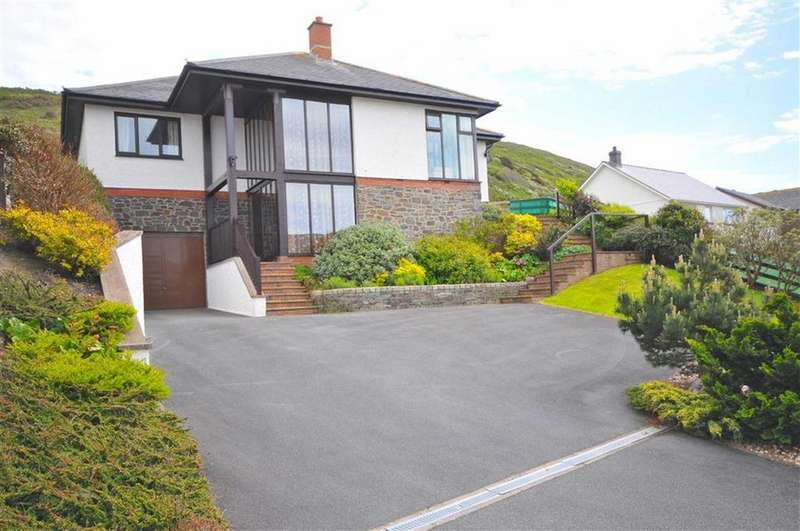 4 Bedrooms Detached Bungalow for sale in Hafodwen, Felin Y Mor, Aberystwyth, Ceredigion, SY23