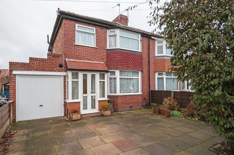 3 Bedrooms Semi Detached House for sale in Nursery Road, Davyhulme, Manchester, M41