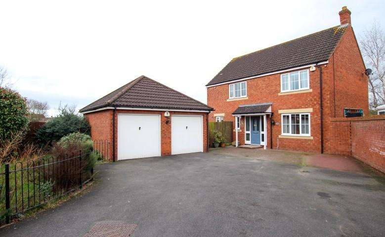 4 Bedrooms Detached House for sale in Moravia Close, Bridgwater TA6
