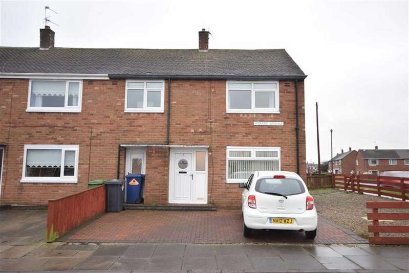 3 Bedrooms End Of Terrace House for sale in Hobart Avenue, South Shields