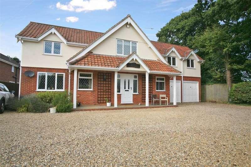 5 Bedrooms Detached House for sale in Main Road, Martlesham, Woodbridge