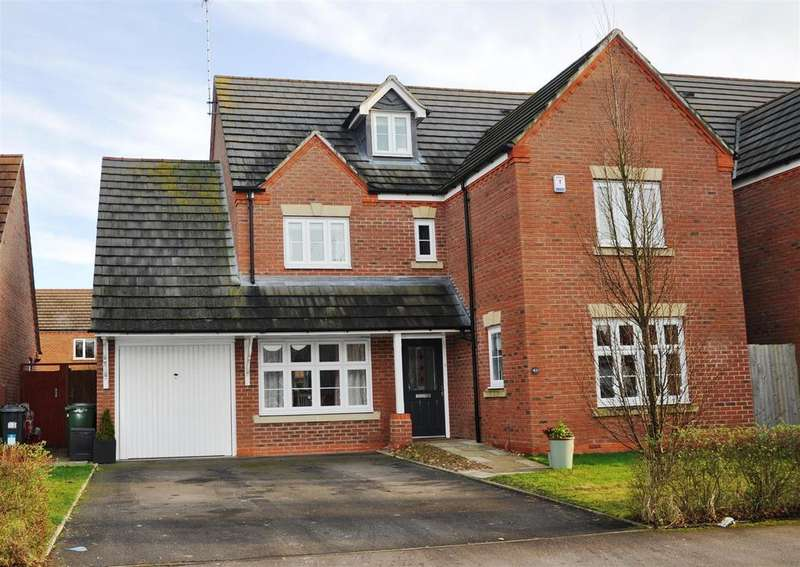 5 Bedrooms Detached House for sale in Hardwick Field Lane, Warwick