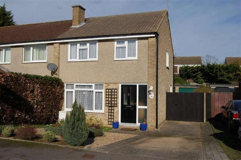 3 Bedrooms Semi Detached House for sale in Whitegale Close, Hitchin, Hertfordshire