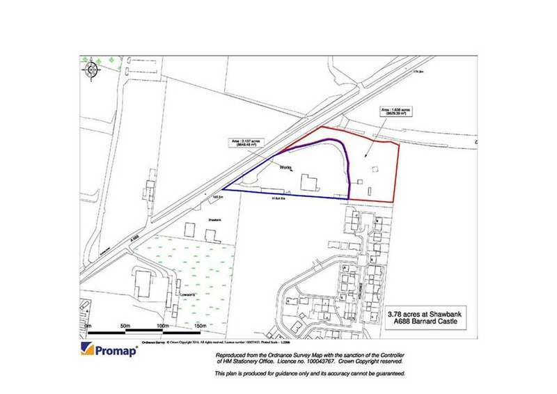 Land Commercial for sale in Shawbank, Barnard Castle, County Durham