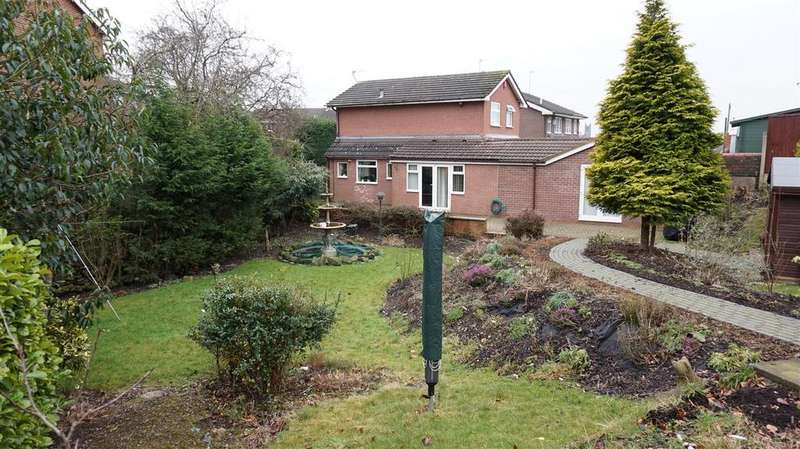 3 Bedrooms Detached House for sale in Loveston Grove, Longton, Stoke-On-Trent, Staffs