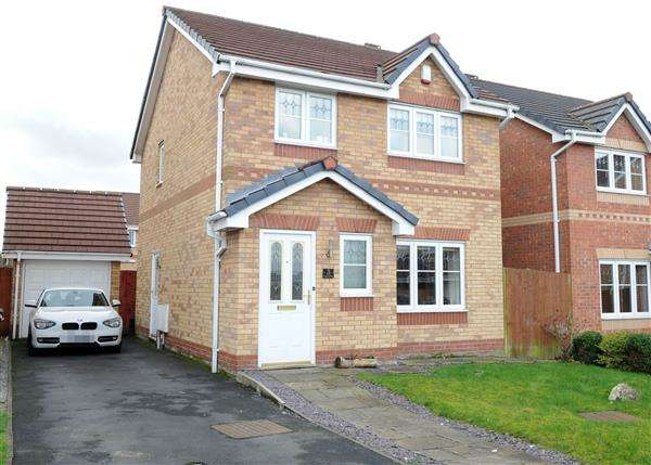 3 Bedrooms Detached House for sale in 3 Powder Mill Close, Irlam M44 6RR
