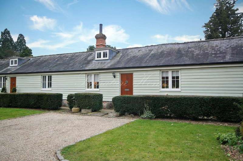 2 Bedrooms Terraced House for sale in The Stables, Gilston Park, Gilston