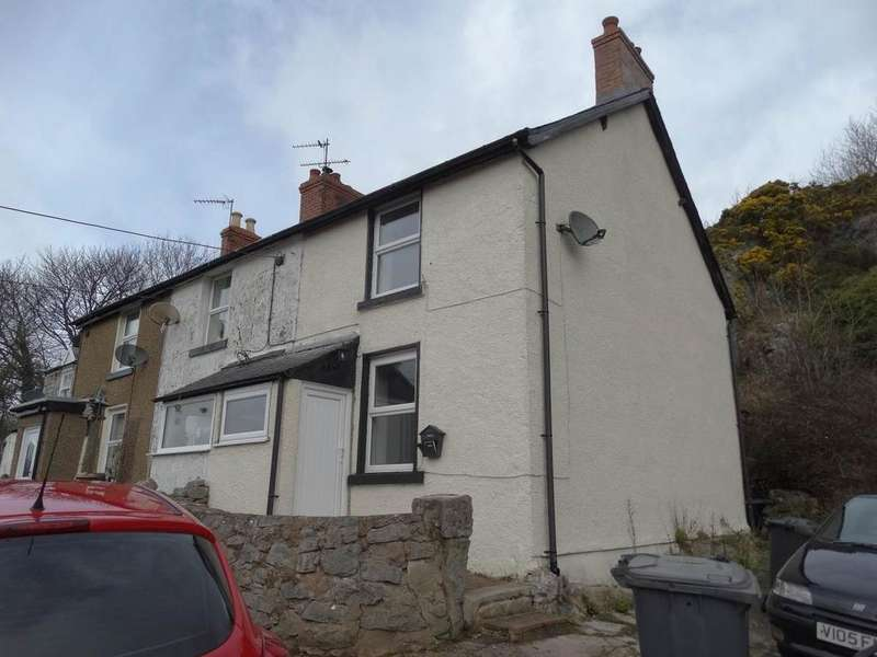 2 Bedrooms End Of Terrace House for sale in 3 Craigside Cottages Tan Y Graig Road, Llysfaen, LL29 8UD