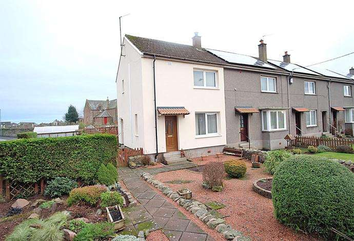 2 Bedrooms Terraced House for sale in 16 Duns Road, Greenlaw, TD10 6XJ