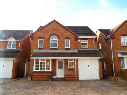 4 Bedrooms Detached House for sale in Deer Close, Huntington, Staffordshire