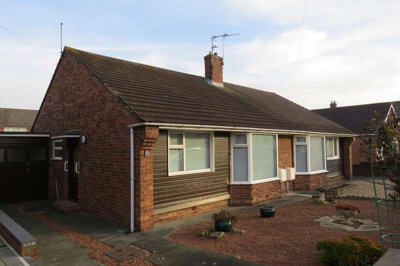 2 Bedrooms Semi Detached Bungalow for sale in Leander Avenue, Wansbeck Estate, Stakeford