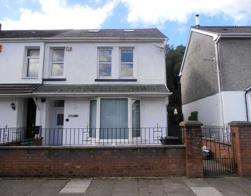 4 Bedrooms Semi Detached House for sale in Belmont Terrace, Aberaman