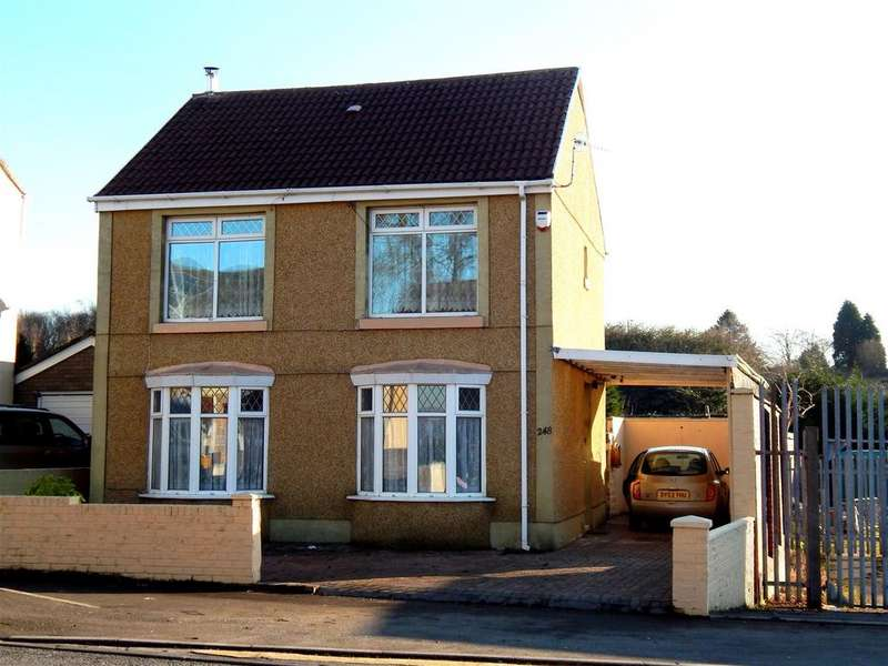 3 Bedrooms Detached House for sale in Peniel Green Road, Peniel Green, Swansea