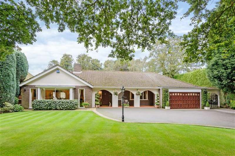 4 Bedrooms Detached Bungalow for sale in Luttrell Road, Sutton Coldfield