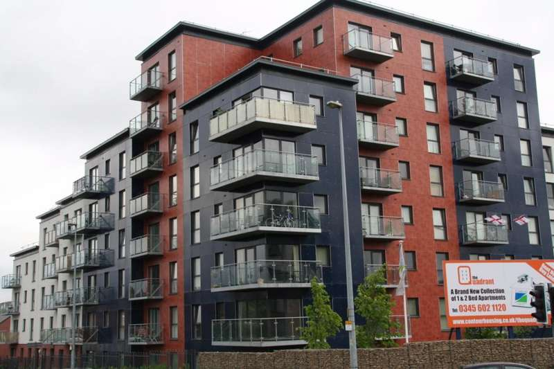 2 Bedrooms Apartment Flat for sale in Camp Street, The Quadrant, New Broughton, Salford, M7