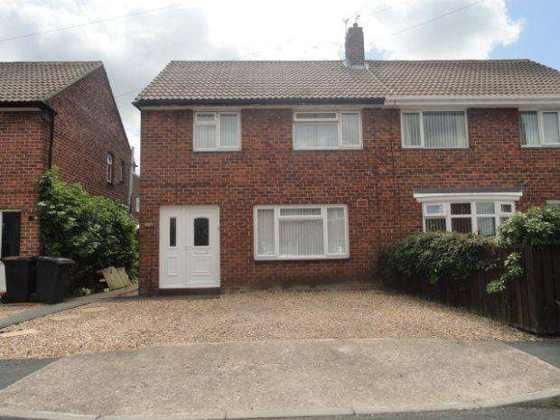3 Bedrooms Semi Detached House for sale in BEK ROAD, NEWTON HALL, DURHAM CITY