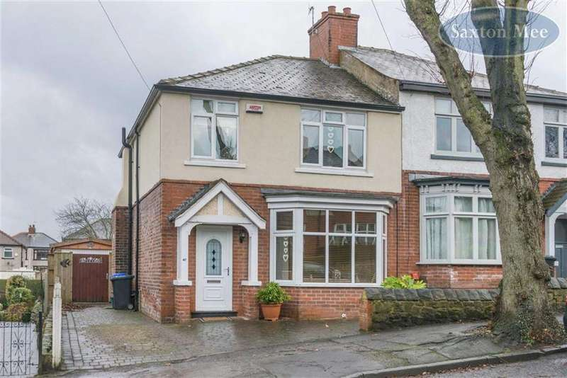 3 Bedrooms Semi Detached House for sale in Vainor Road, Hillsborough, Sheffield, S6