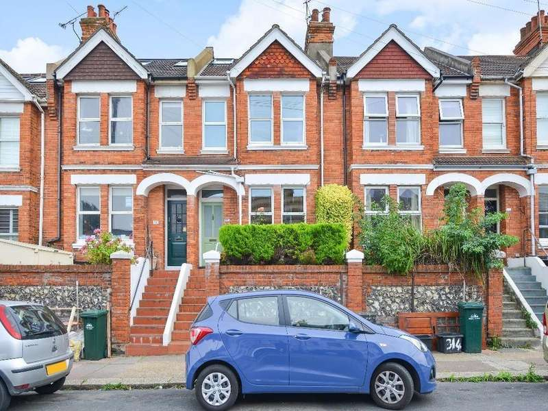 4 Bedrooms Terraced House for sale in Queens Park Road, Brighton, BN2